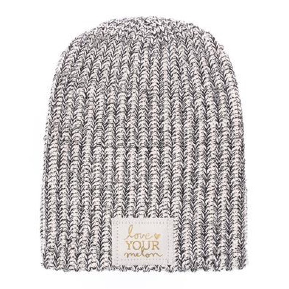 Love Your Melon Black Speckled Beanie c35f75814421